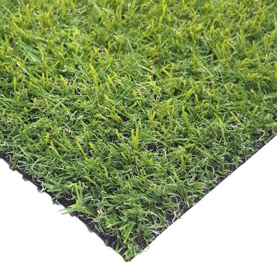 Kunstgras Tapijt DOHA groen - 100x200cm - 19mm|artificial grass|gazon artificiel|tuin|balkon|terras|grastapijt|grasmat