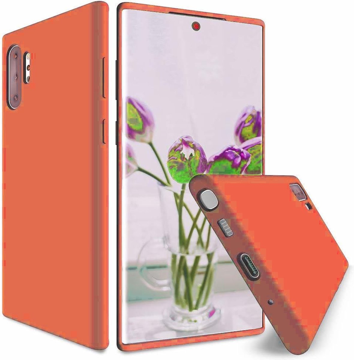 Afbeelding van product Shieldcase Silicone case Samsung Galaxy Note 10 Plus - oranje