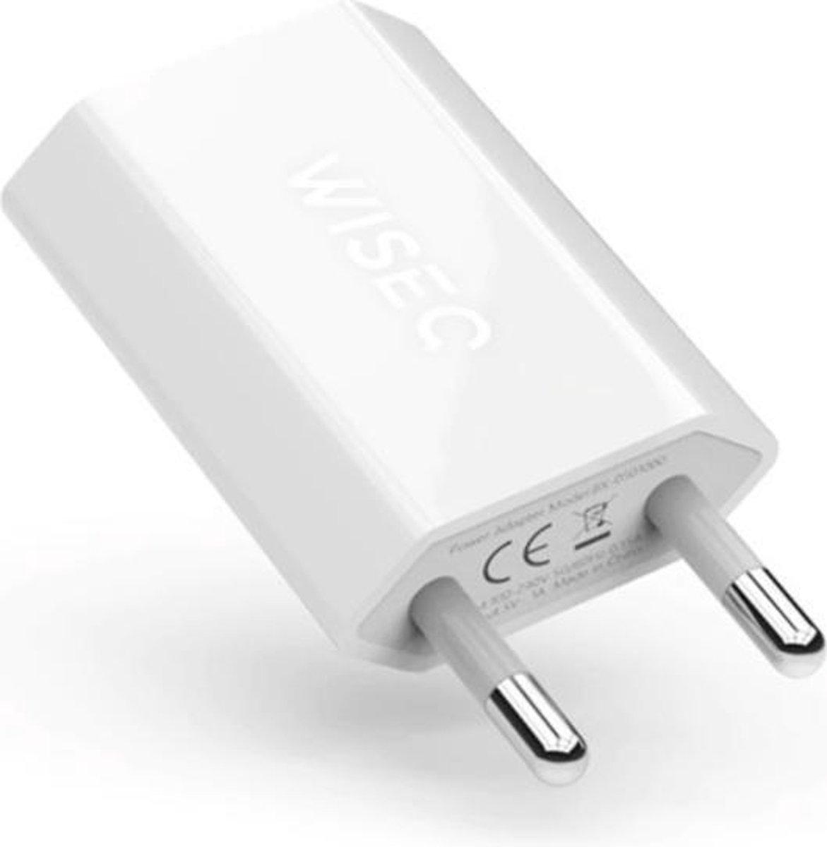 WISEQ - iPhone Lader - Gecertificeerde Oplader USB - Apple iPhone 11/11 PRO/ XS/ XR/ X/ iPhone 8/ 8
