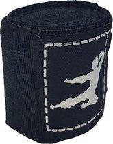 Bruce Lee Boks Bandage - Boxing Wraps - Boksbandages - Kickboks bandage - Paar - 250 cm - Zwart