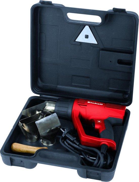 Einhell TH-HA 2000 Heteluchtpistool - 2000 W - Incl. koffer - Incl. 4 mondstukken en schraper