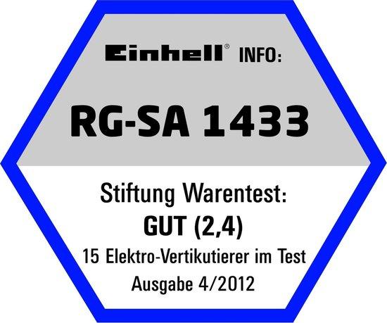 Einhell Verticuteerder/Beluchter 1400 W – Met opvangzak