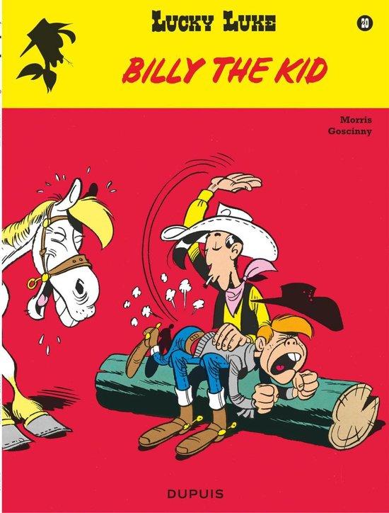Boek cover Lucky luke 20. billy the kid van Morris (Paperback)