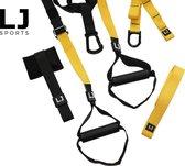 LJ Sports | TRX | Suspension Trainer | Total Resistance Exercise | Incl. Full Body Workout Oefeningen