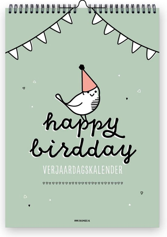 Verjaardagskalender | Thuismusje