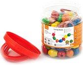 Viga Toys - Houten Rijgkralen - 90 stuks