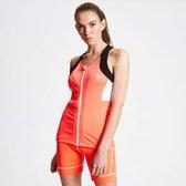 Dare 2b - Women's Regale Full Zip Vest - Outdoorshirt - Vrouwen - Maat 34 - Oranje