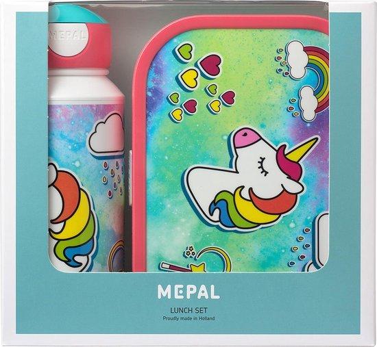 Mepal Campus Lunchset - drinkfles en lunchbox - Unicorn