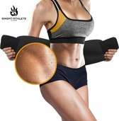 Sweat Athlete - Waist Trainer - Zweetband Buik - Sauna Band - Sweat Belt - Afslankband - Afslankgord