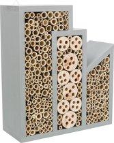 Bijenhotel Afmetingen: 30×12×35 cm