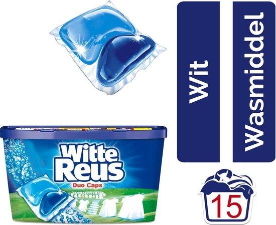 Witte reus duo-caps 15 stuks