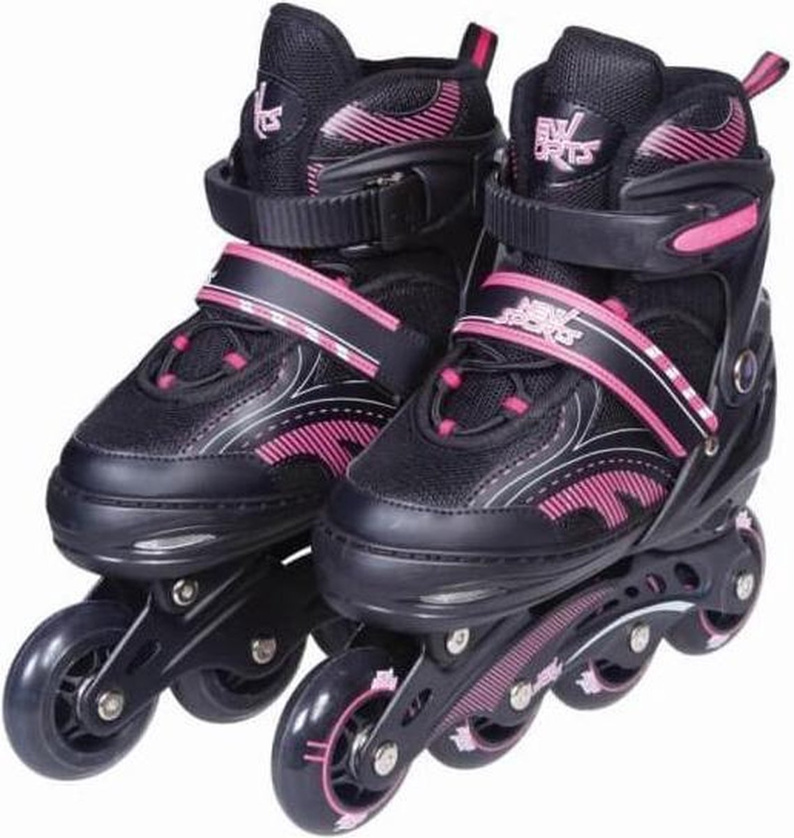 Inline Skates Roze Verstelbaar Maat 35-38