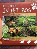 Dieren in het bos - in het wild