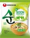 NONGSHIM Instant Noodle Soon Veggie - 112g x 20 stuks - voordeelverpakking - veganistisch