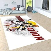 Herms-NBA Miami Heat-Vloerkleed -Antislip -150x230 cm