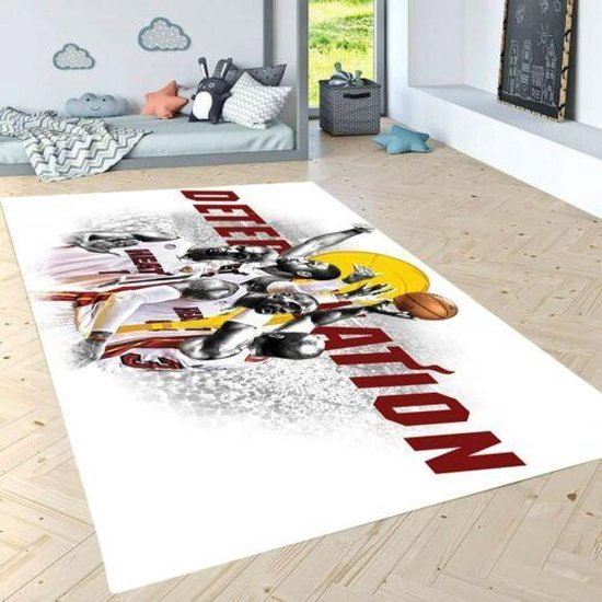 Herms-NBA Miami Heat-Vloerkleed -Antislip -150x230 cm