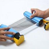 MIRO   Uitschuifbaar Tafeltennis Net  - Maximaal ca. 1.80 meter – Handig in gebruik – PingPong net – Ping Pong net