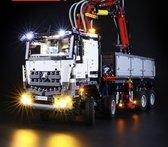 LED Verlichting Set voor Lego® Mercedes Arocs - Lichtset voor Technisch bouwpakket Mercedes Arocs bouwset 42043  LED verlichting set - Geen Model - Toy Brick Lighting