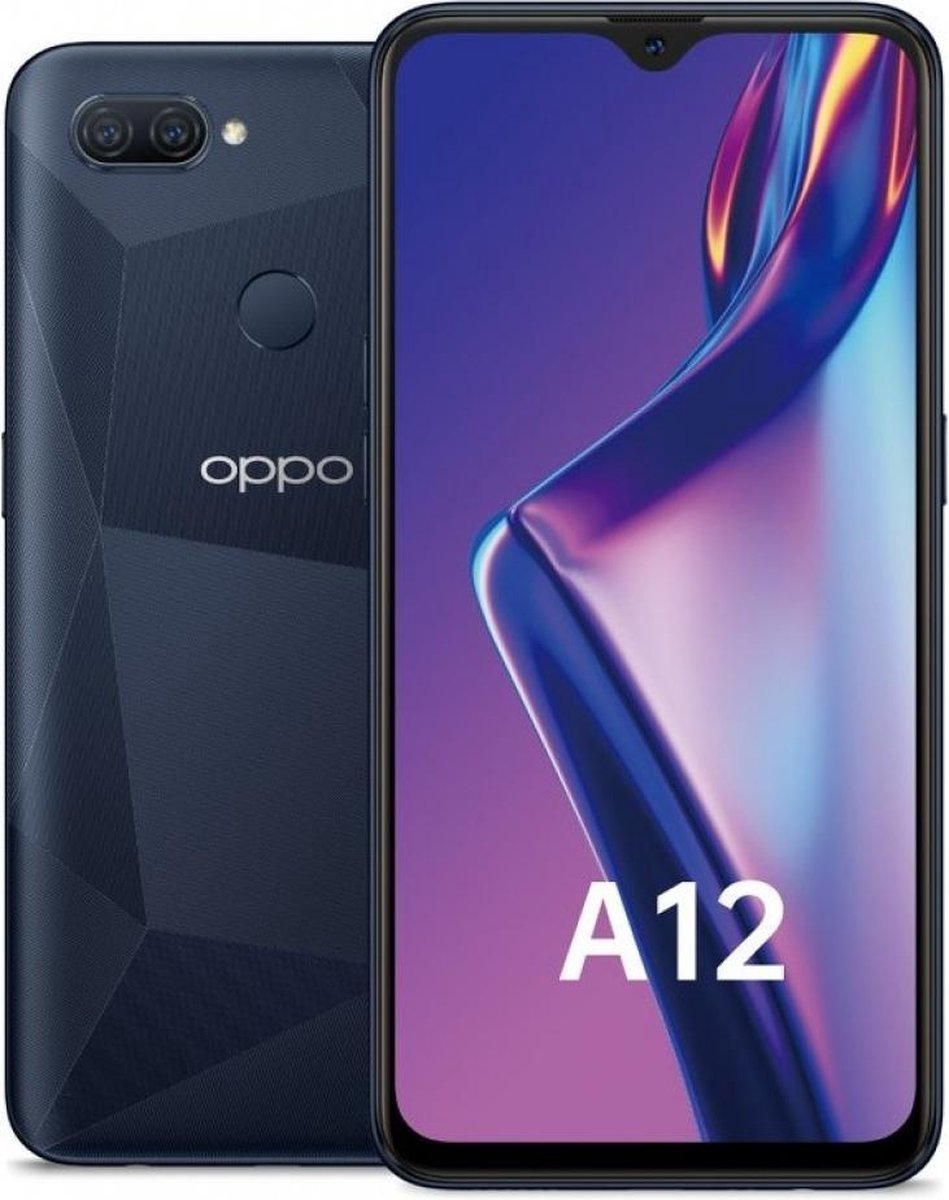 Oppo A12 15,8 cm (6.22'') 3 GB 32 GB Single SIM Micro-USB Zwart Android 9.0 4230 mAh kopen