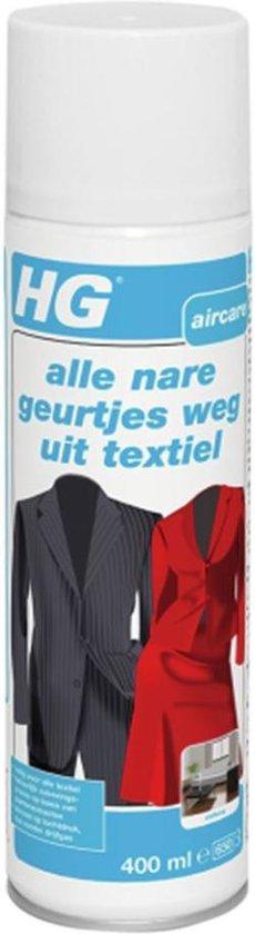 HG tegen nare geurtjes in textiel - 400ml - veilig voor alle soorten textiel