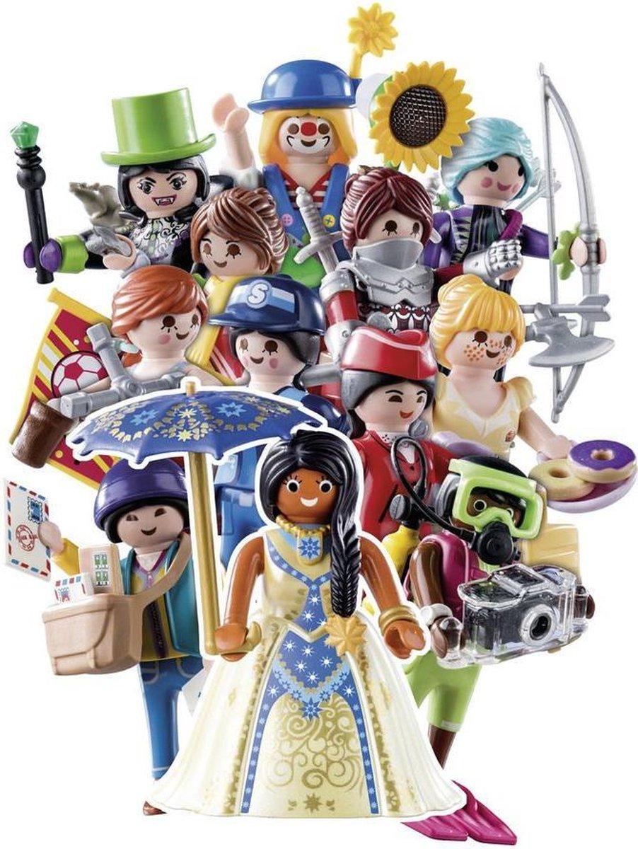 PLAYMOBIL Figures Series 18 - Meisjes - 70370