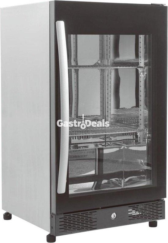 Koelkast: Maxxfrost Barkoeler | Glasdeur koelkast | 1 glasdeur| Horeca Kwaliteit, van het merk Maxxfrost