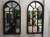 2 stuks Tuinspiegel Gotische Buitenspiegel, Kerkra