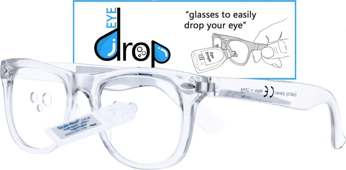 EyeDrop by Icon Eyewear - Bril voor oogdruppels - Transparant