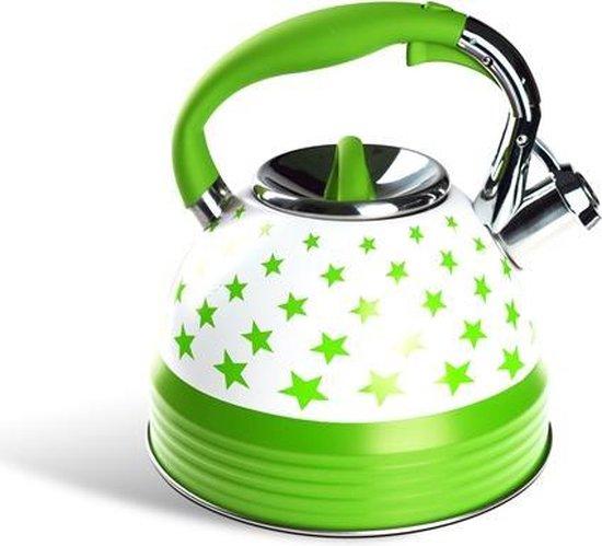 Edënbërg Classic Line - Luxury Whistling kettle - Stainless steel - 3.0 L.