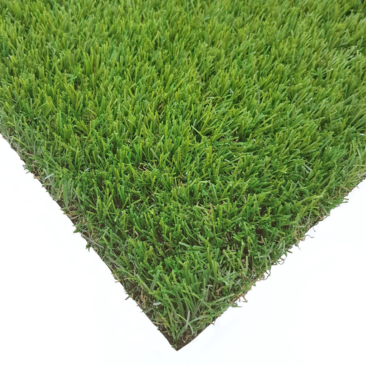 Kunstgras Tapijt DENVER groen - 100x200cm - 25mm artificial grass gazon artificiel groen tuin balkon