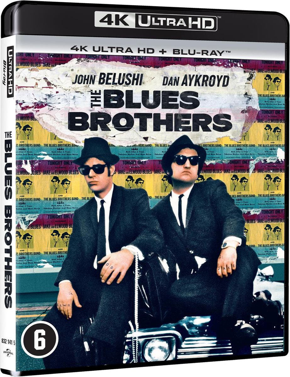 BLUES BROTHERS, THE (D/F) [UHD/BD]-