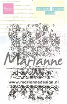 Marianne Design • Texture clear stamps tiles