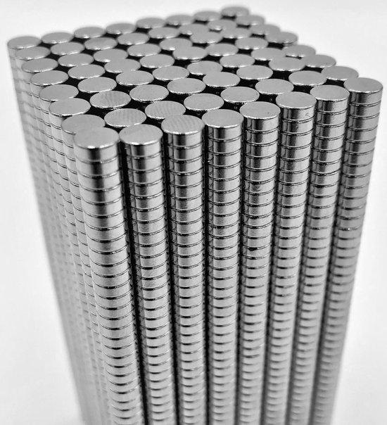 Afbeelding van Super sterke magneten - Neodymium - 5x2 mm - 50 stuks