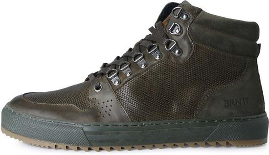 brunotti sagres hi top, olive, mens casual shoe maat-44