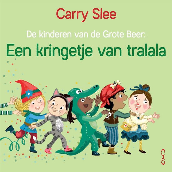 Boek cover Een kringetje van tralala van Carry Slee (Binding Unknown)