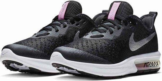 | Nike Air Max Sequent 4 GS Kids Sneakers Black