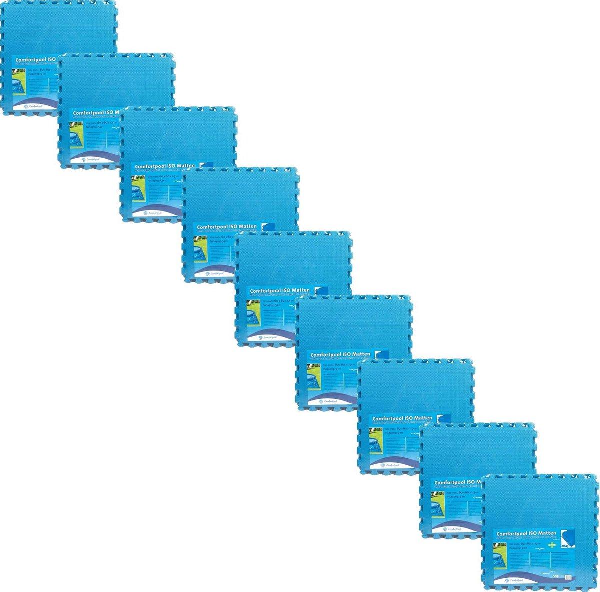 Comfortpool - Voordeelpakket - Zwembad tegels - 45 tegels - 60 x 60 cm - 16,2�m²