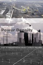 Boek cover Power Density van Vaclav Smil (Paperback)