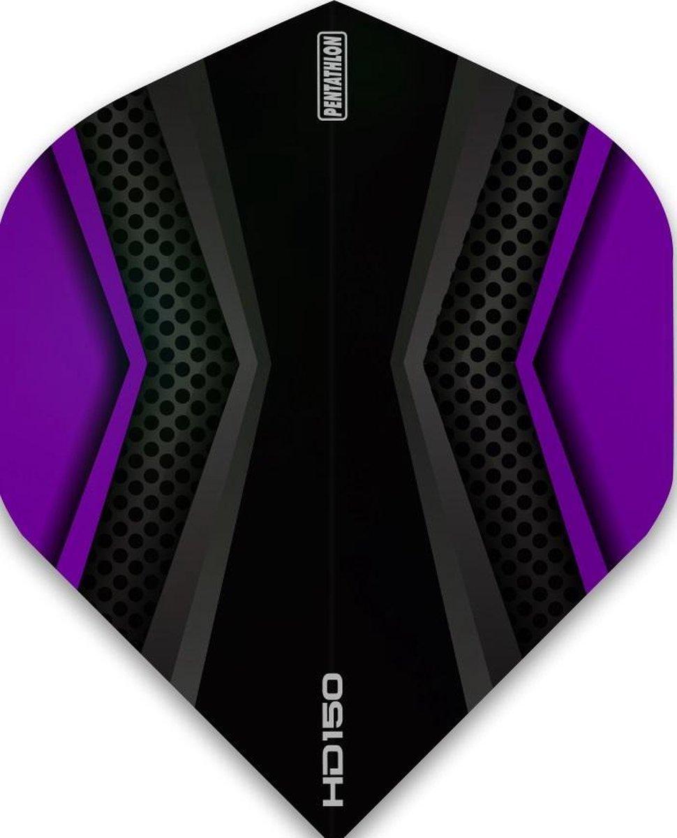 Pentathlon flights HD150 XWing Black Purple
