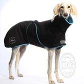 DG Outdoor Plus Jacket - Waterproof Dog Coat-Black/Green-XXL