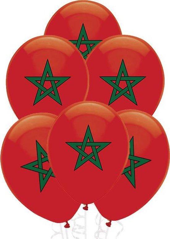 Party Colors Marokkaanse Ballonnen 10 stuks l 30 cm