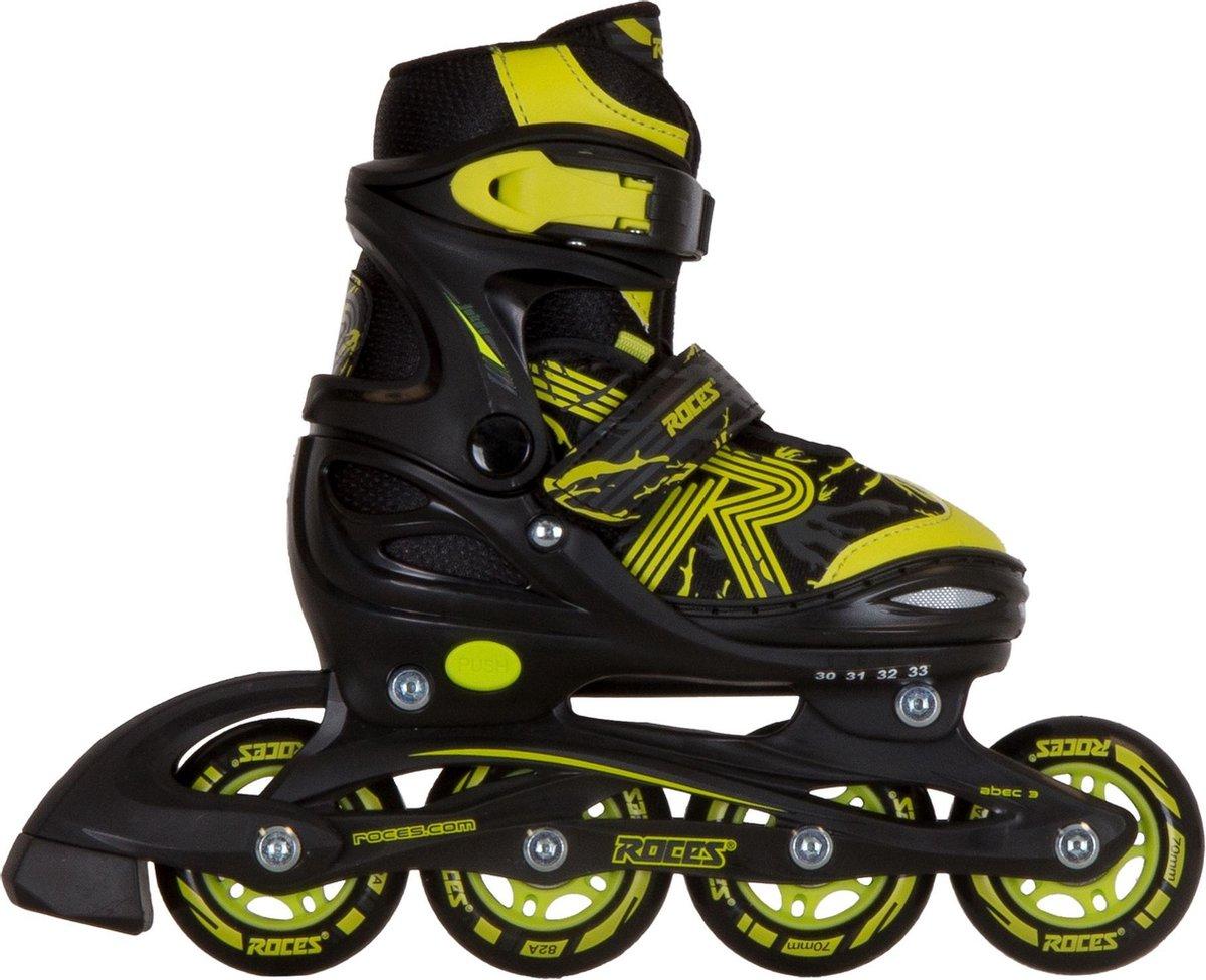 Roces Inlineskates - Maat 26-29 - Unisex - zwart/geel