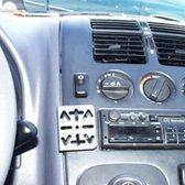 Houder - Dashmount Mercedes Benz V-Klasse Vito 1996-2003 (W638)