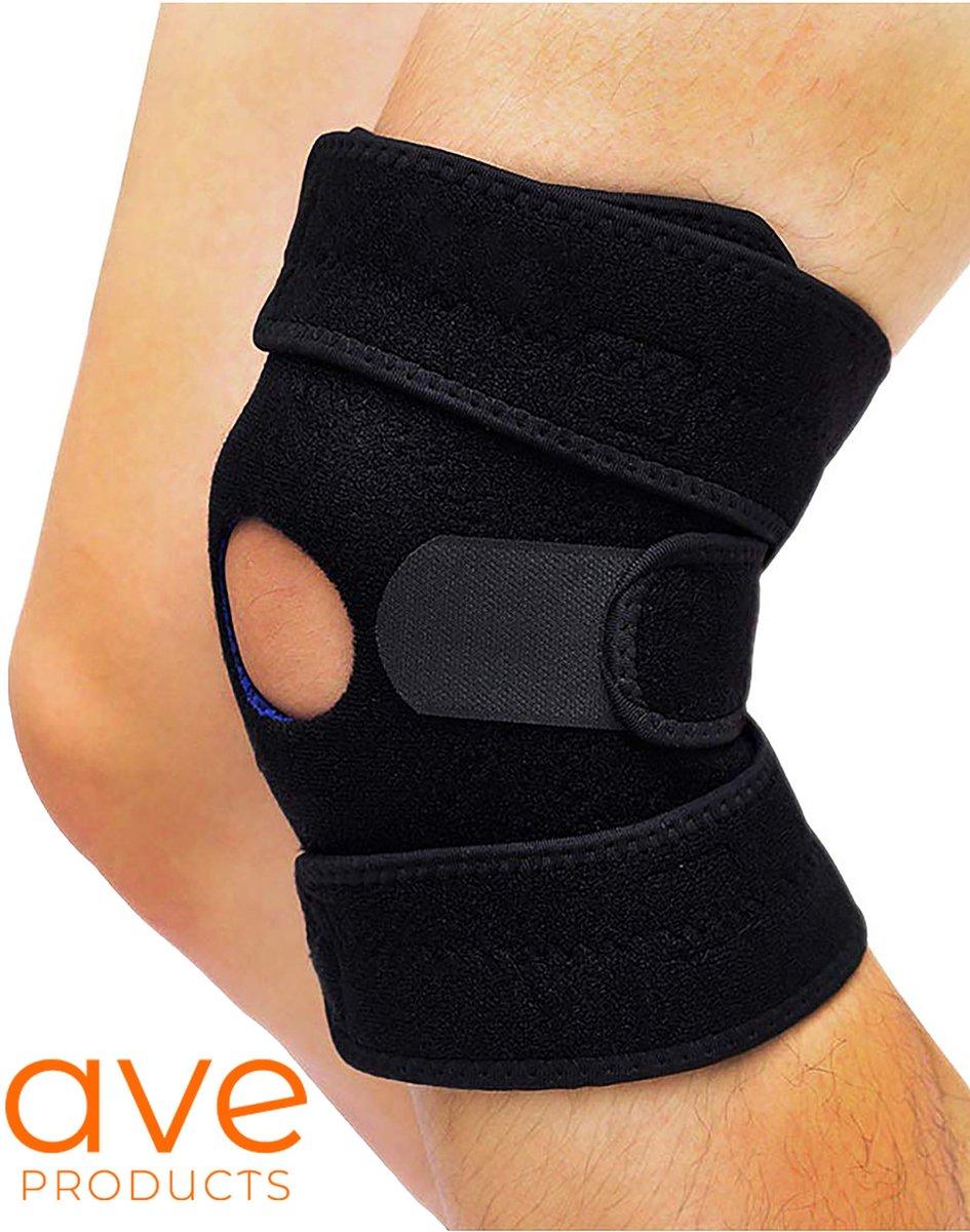 AVE® Patella Kniebrace - Elastisch Verstelbaar Kniebandage - Versteviging Knie Brace