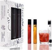 Premium Cocktails - Ready to drink Cocktailset - Vrijdag Middag Borrel Cocktail Pakket - Vaderdag Cadeautje - Vaderdag Geschenkset - 3 x 100ml