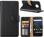Motorola Moto G6 Play - Bookcase Zwart - portemonee hoesje