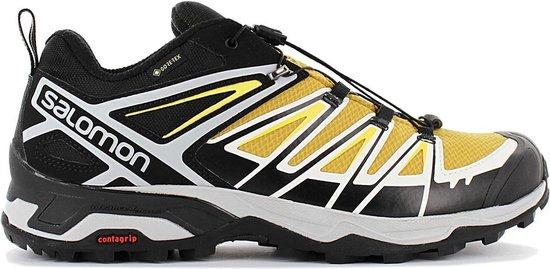Salomon X ULTRA 3 GTX - GORE-TEX - Heren Wandelschoenen Trekking Schoenen  Sportschoenen Geel-Zwart 409866 - Maat EU 47 1/3 UK 12