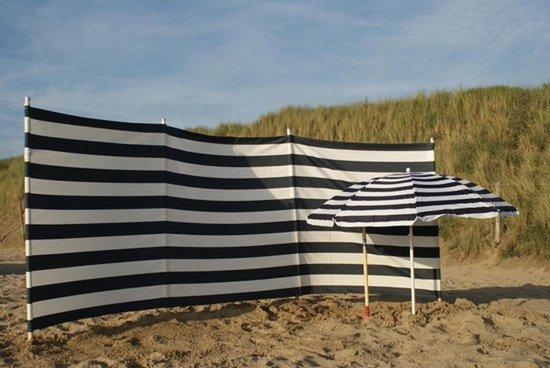 Sunline Strand Windscherm - Marine Blauw