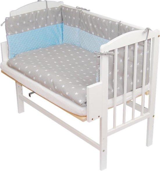 co-sleeper, babybed, bedje, incl.matras en wielen / MULTIFUNCTIONELE CO-SLEEPER / AANSCHUIFBEDJE