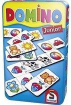 Domino Junior In Tin Box Pocketeditie - Reisspel